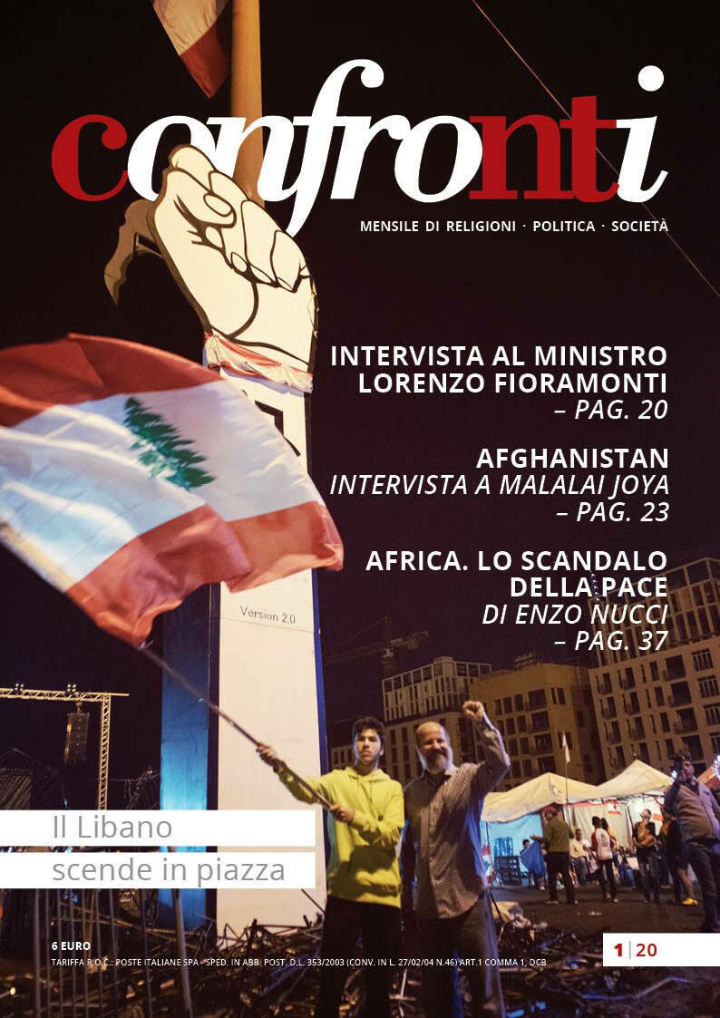 Confronti gennaio 2020 - Il Libano scende in piazza (PDF)