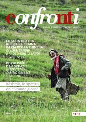 Confronti ottobre 2019 - Kashmir, lo spettro del