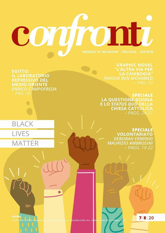 Confronti luglio/agosto 2020 - Black Lives Matter (Cartaceo)