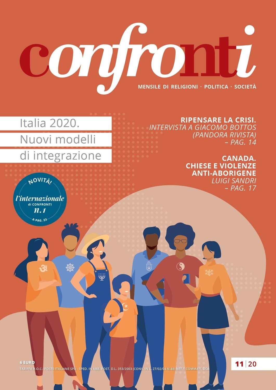 Confronti novembre 2020 -  Italia 2020. Nuovi modelli di integrazione (PDF)