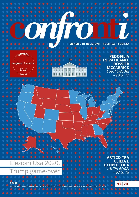 Confronti dicembre 2020 -  Elezioni Usa 2020. Trump game-over (Cartaceo)