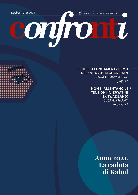 Confronti settembre 2021 - Anno 2021. La caduta di Kabul (Cartaceo)