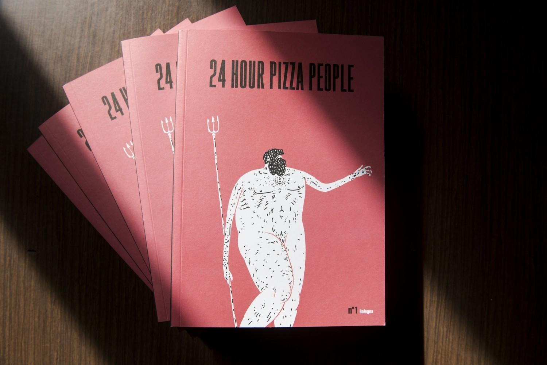 24 HOUR PIZZA PEOPLE - MAGAZINE N°1 - BOLOGNA - PREZZO SPECIALE 10 EURO (prezzo copertina 15 euro)