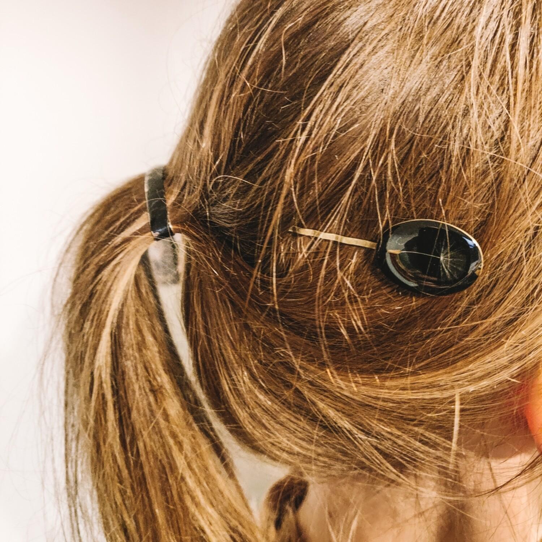 DANDELION: haarspeld brons