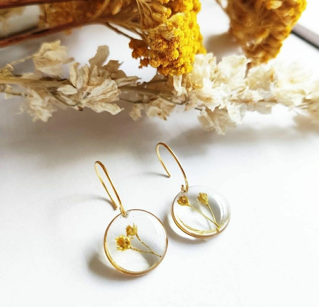 BROOM: oorbellen goud rond