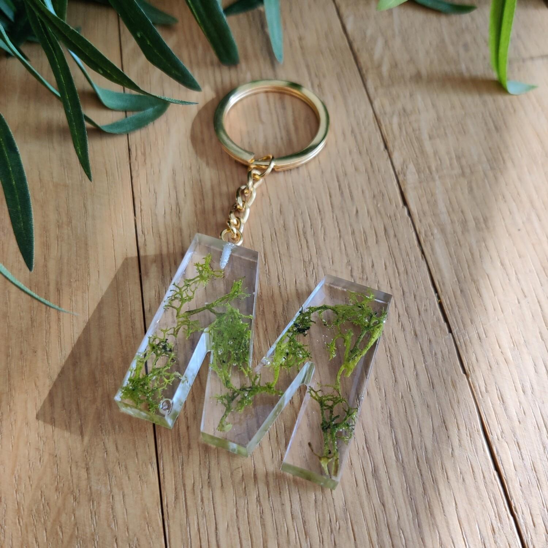 Sleutelhanger groen: M