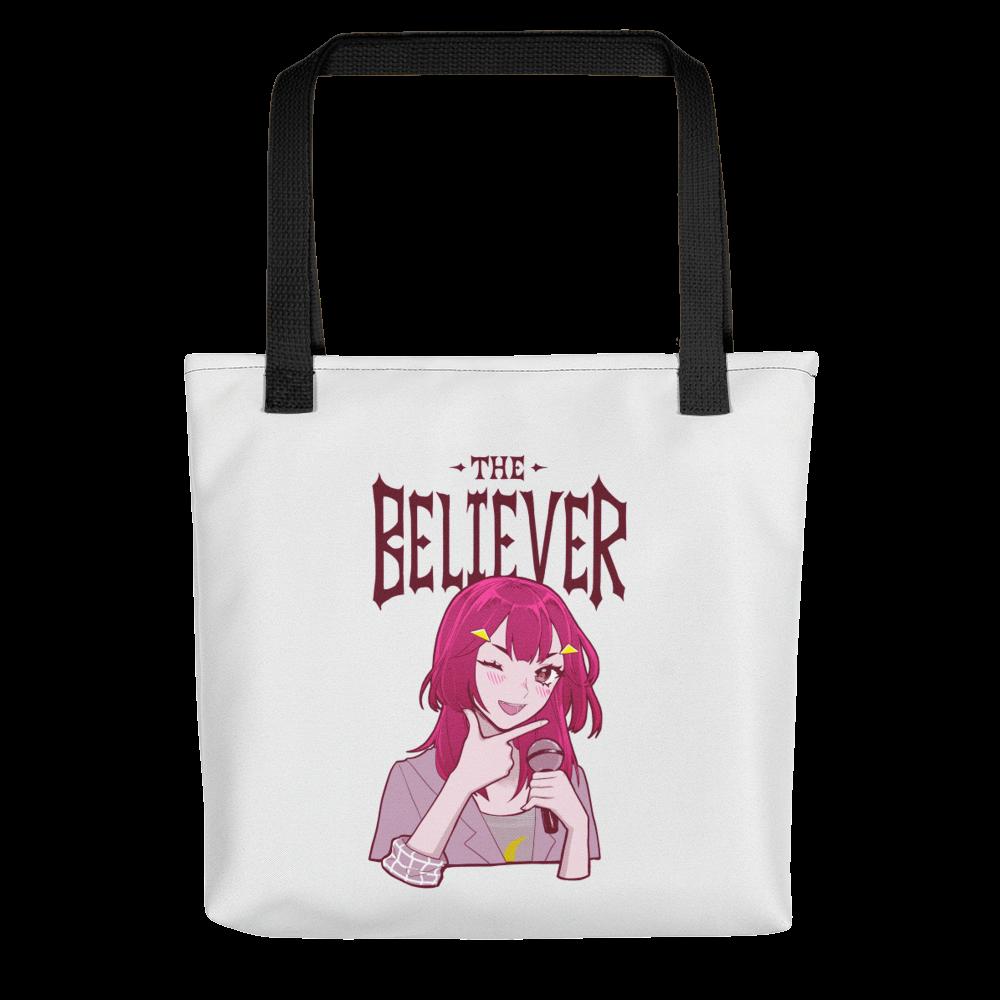 Skeptic/Believer Tote Bag (White)
