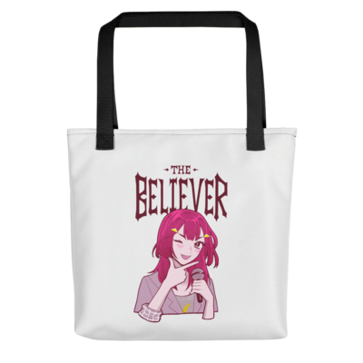 Skeptic/Believer Tote Bag (White)