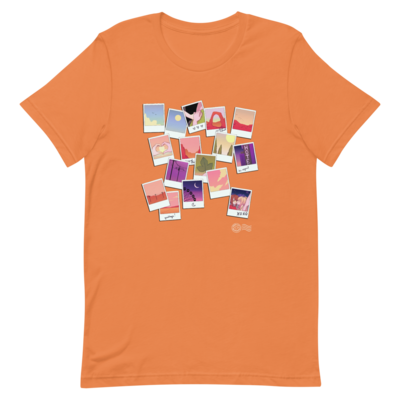 Highway Blossoms Scrapbook T-shirt