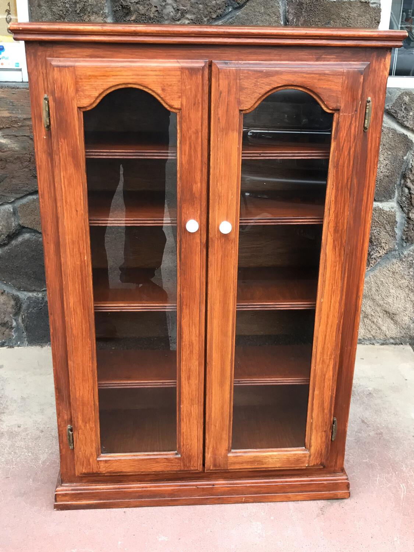 Vintage Wood Display Case