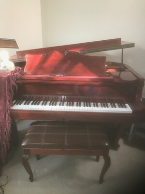 Schafer and Sons SS-51 Baby Grand Used Piano