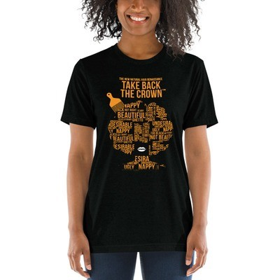 Short sleeve t-shirt Gold Lettering