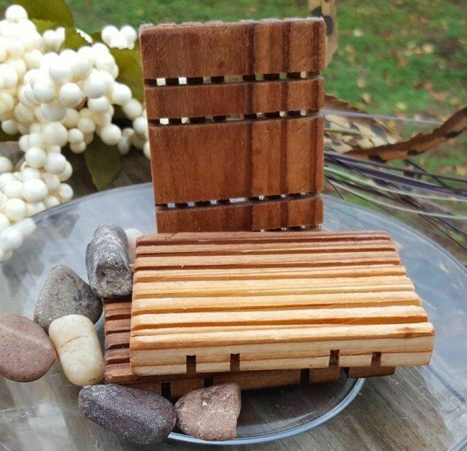 Handmade Cedar Soap Deck