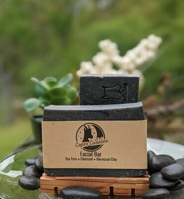 Tea Tree & Charcoal Facial Bar