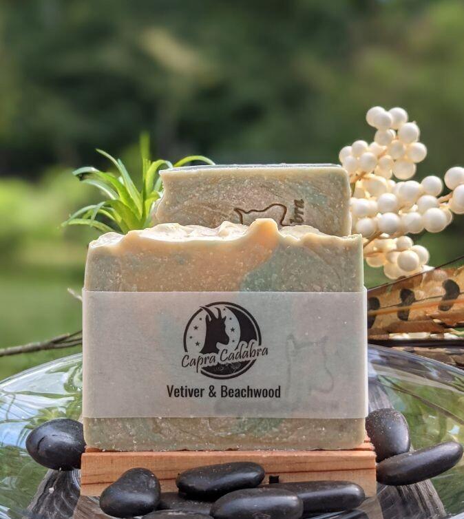 Goat Yogurt Soap: Vetiver & Beachwood