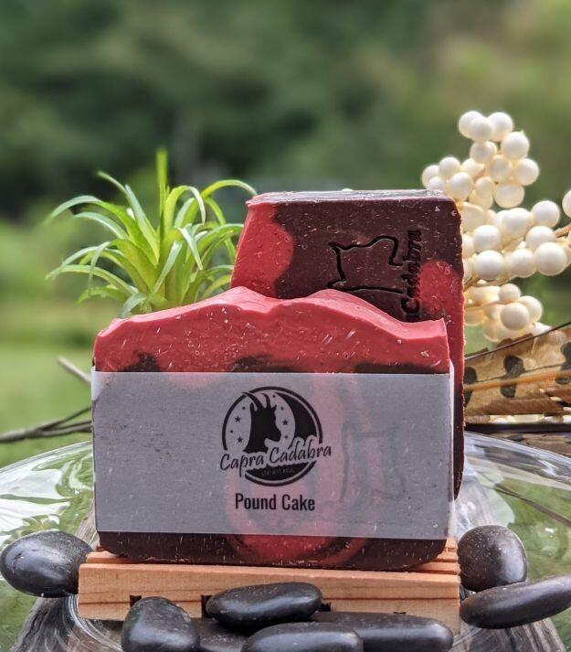 Goat Yogurt Soap: Pound Cake