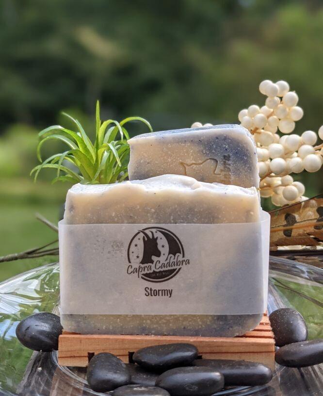 Goat Yogurt Soap: Stormy
