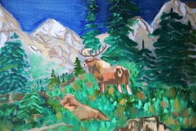 High Mountain Moose