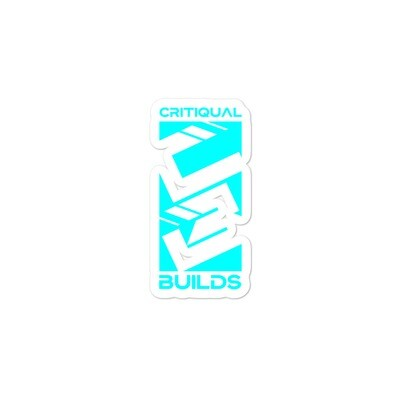 CritiQual Builds stickers