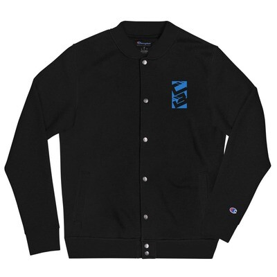 CritiQual Builds Embroidered Champion Bomber Jacket