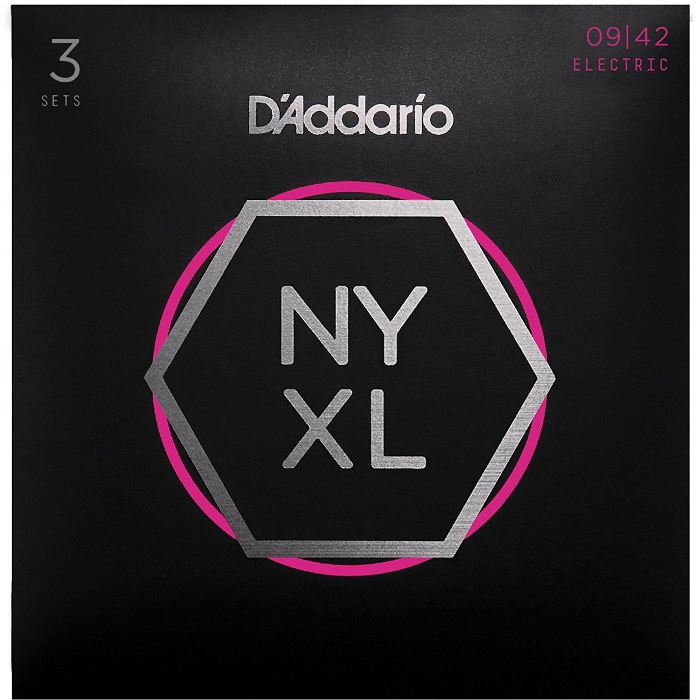 D'Addario 09-42  3 Pack