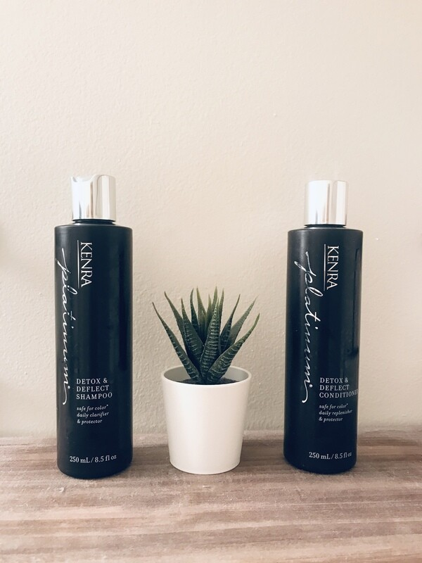 Kenra Detox and Deflect Shampoo and Conditioner Set