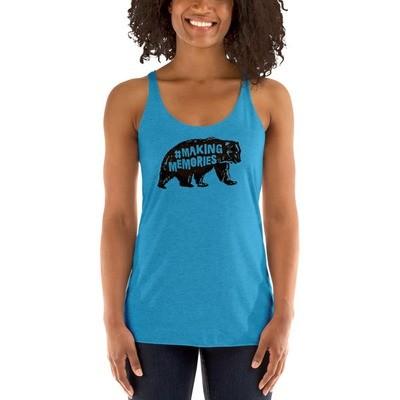 #MakingMemories Bear - Racerback Tank