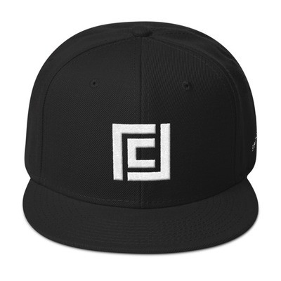 The Chick's Life Logo - Stay Positive Snapback Hat