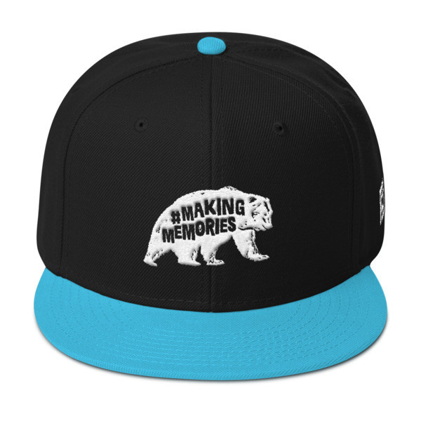 #MakingMemories Bear - Snapback Hat