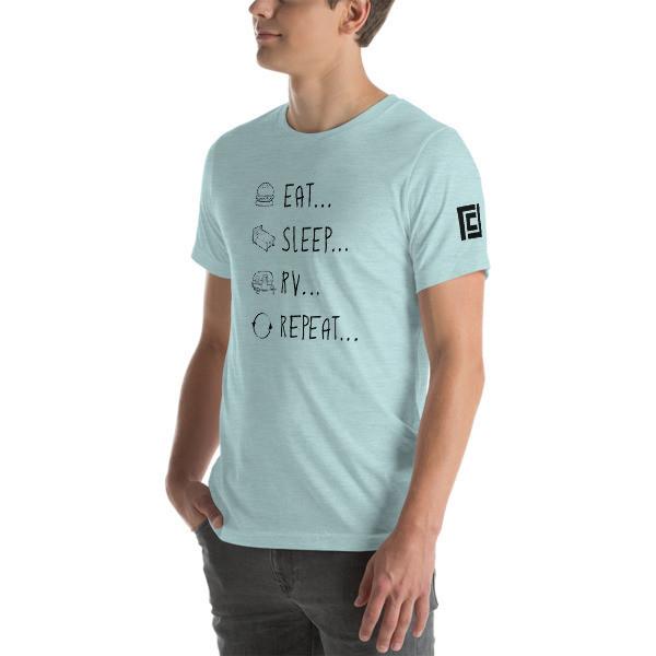 Eat... Sleep... RV... Repeat...  T-Shirt