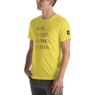Eat... Sleep... Travel... Repeat...  T-Shirt
