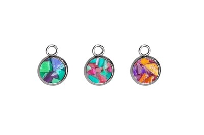 PLASTISEA CIRCLE CHARM - MULTI COLOR