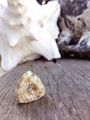WHITE CORAL PANDORA COMPATIBLE BEAD