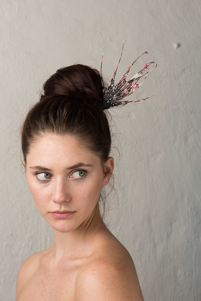 LIONFISH FIN HAIR PIN