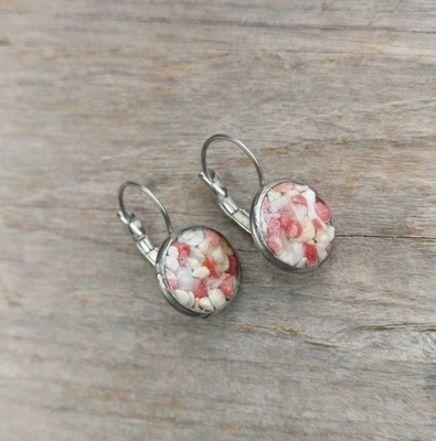 BERMUDA COAST PINK SAND DROP EARRINGS