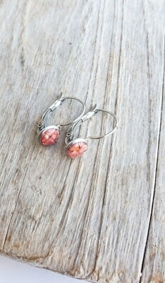 BERMUDA COAST PINK SAND PETITE DROP EARRINGS