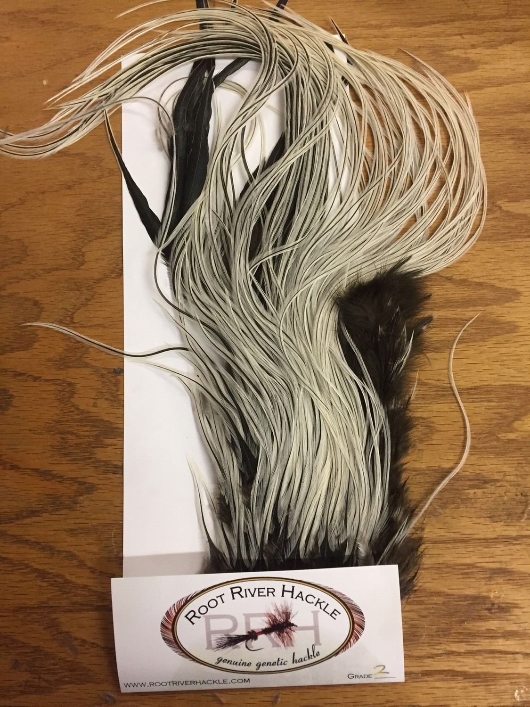 Root River Half Saddle #2 Silver Badger