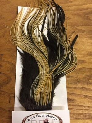 Root River Half Saddle #2 Golden Badger