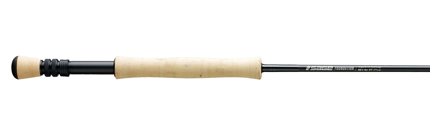 Sage foundation fly rod with case