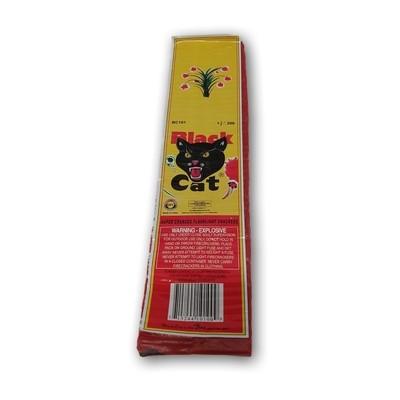 Black Cat Firecrackers (200 Pack)