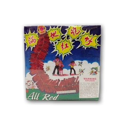 All Red Celebration Crackers