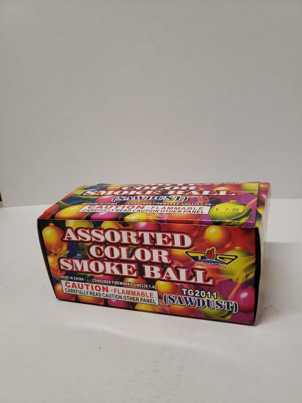 Assorted Color Smoke Ball