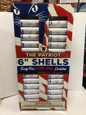 """The Patriot 6"""" Shells"""