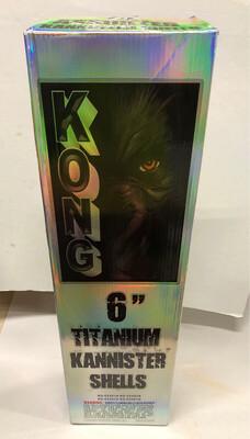 """Kong 6"""" Titanium Kannister Shells"""