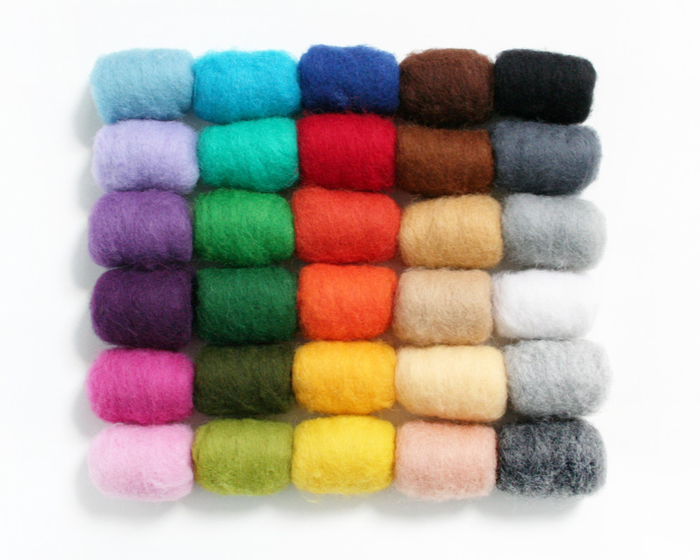 Wool Batts 200g