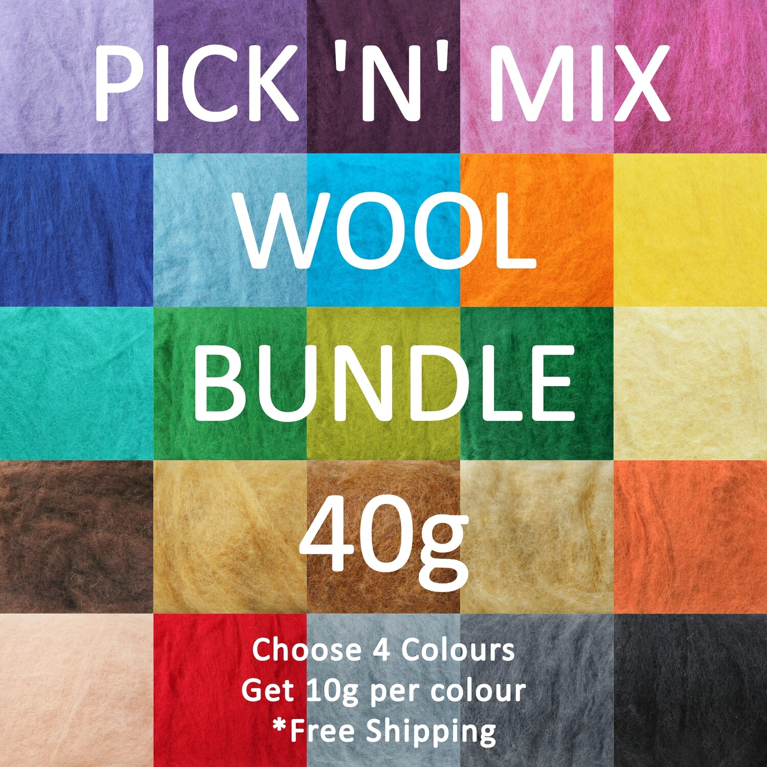PICK 'N' MIX Wool Bundle 40g