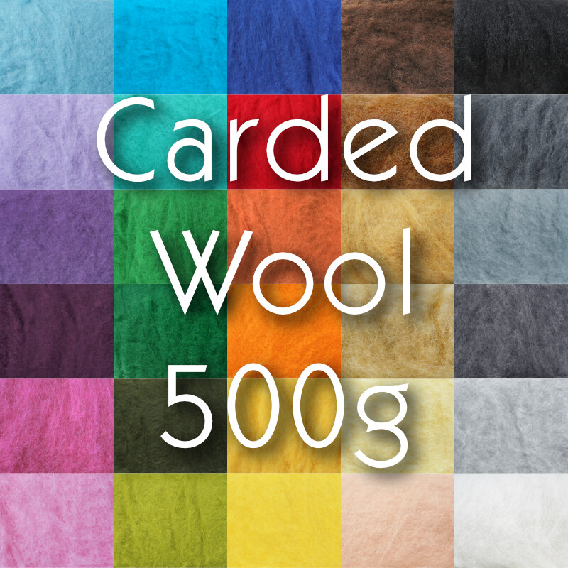 Wool Batts 500g