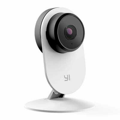 Yi Smart Home 3 Static 1080p 107 Micro SD Slot Camera White