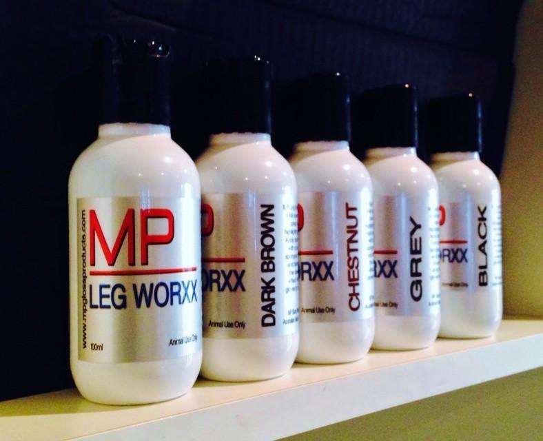 MP LEG WORX - Black, Chestnut, Dark Brown, Light Grey