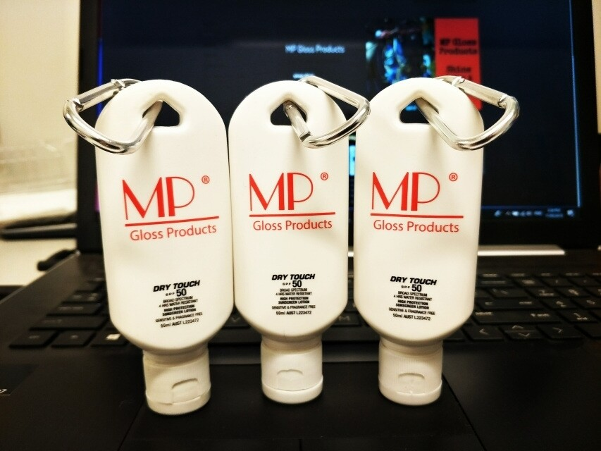MP Sunscreen Keyring